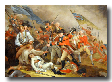 John Trumbull - The Death of General Warren at the Battle of Bunker Hill, 17 June 1775